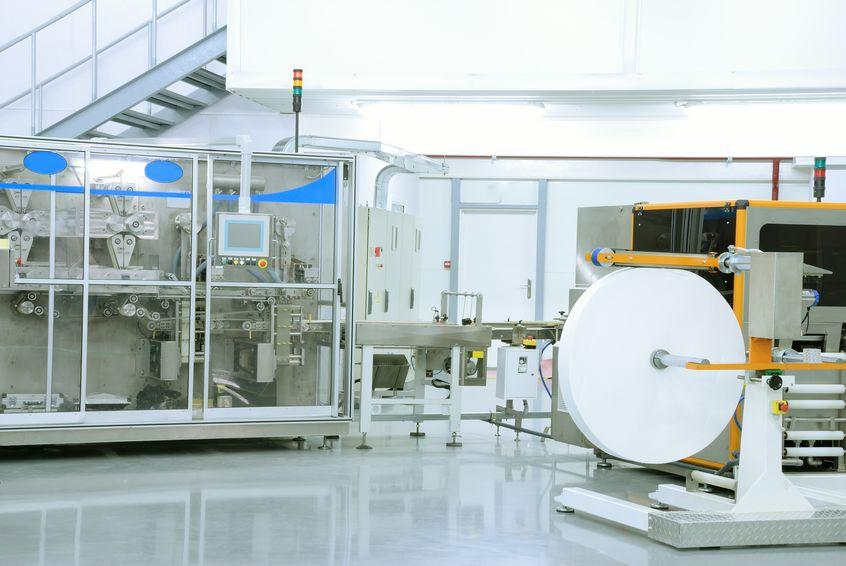 sterile wet wipes production in fabric