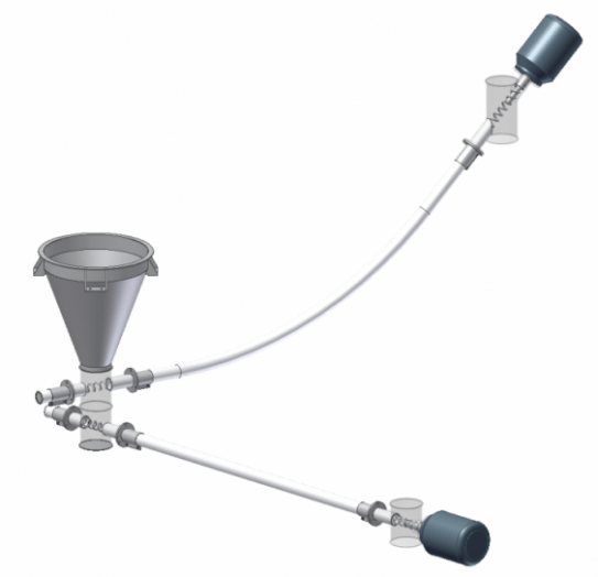 Flexi spiro conveyor by Trantec